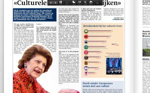 bron: Metro 7/11/2013, p. 8