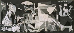 'Guernica' van Picasso. Bron: www.museoreinasofia.es